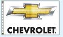 Custom Stock Dealer Logo Flags - Chevrolet