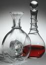 Custom Baroness Decanter With Lid. Premium Glass. 54 Oz., 13