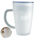 Custom Frosted Advertising Cup, 3 5/32