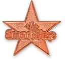 Custom Die Struck Iron Lapel Pin (1 1/4