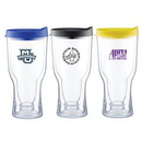 Custom 18 Oz. Brew2Go Beer Tumbler w/Lid, 8