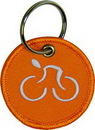 Custom Embroidered Keytag - Double-Sided, 2