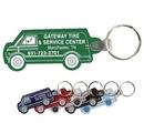 Custom Van Key Fob Keychain - Spot Printed