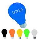 Custom Polyurethane Light Bulb Stress Reliever, 2 3/8