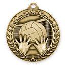 Custom 1 3/4'' Volleyball Medal (G)