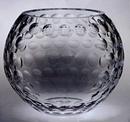 Custom 334-C608DU8  - Raleigh Golf Rose Bowl-Lead Crystal