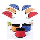 Custom Waterproof Zipper Folding Pet Bowl, 5.9