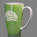 Custom Paddington Mug - 17oz Lime Green