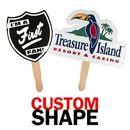 Custom Shaped Hand Fan