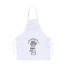Custom Apron Tapered Top -- White, 28