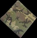 Custom Camouflage Bandanna - Woodland Pattern 22