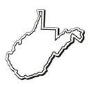 Custom West Virginia Notekeeper Magnet- 20 Mil Process Color (3