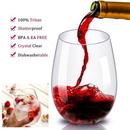 Custom 16 oz Unbreakable Stemless Wine Glass