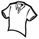 Custom Shirt Notekeeper Magnet - 20mil Process Color (3