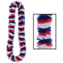 Custom Patriotic Soft Twist Poly Leis, 2
