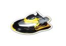 Custom Jet Ski #3 Magnet - 5.1-7 Sq. In. (30MM Thick)