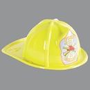 Custom Yellow Plastic Fire Chief Hats (CLEARANCE)