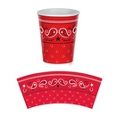 Custom Bandana Beverage Cups