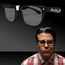 Custom Black Frame Nerd Glasses