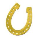 Custom Gold Foil Horseshoe Silhouette, 17