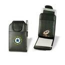 Custom Communications Jotter w/ E-Organizer Pocket, Padfolio, Notebook, 3.25