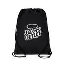 Custom 420D Polyester Drawstring Backpack Gym Sack, 13.5
