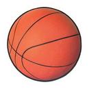 Custom Basketball Cutout, 13 1/2