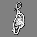 Custom Bird (Owl, Barred) Bag Tag