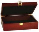Custom Rosewood Finish Gift Box, 12 1/2