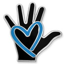 Custom Human Trafficking Awareness Pin, 1
