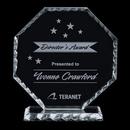Custom Jade Stockton Award w/ Scalloped Edge (6