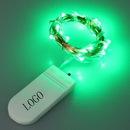 Custom Green Fairy String LED Lights, 78.7