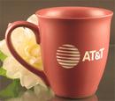 Custom 15 Oz. Carved Ceramic Rose Sugo Mug, 4 1/2