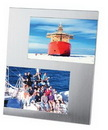Custom 2-Photo Metal Picture Frame
