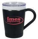 Custom 12 Oz CeramiSteel stainless steel Coffee Mug, 3 5/8