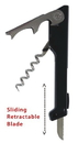 Custom Slide-Blade Two-Step Waiter's Corkscrew