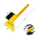 Custom Snow Shovel with Brush for Cars, 13 1/2