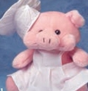 Custom Chef Hat For Stuffed Animal (Medium)