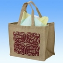 Custom Natural Soft Jute Shopping Bag