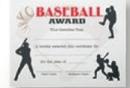 Custom Stock Certificate (Baseball)