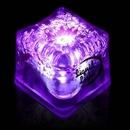 Custom Purple Lited LED Ice Cubes