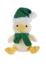 Custom Soft Plush Duck With Christmas Scarf and Hat 12