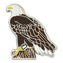 Custom Bald Eagle Pin, 1 1/8