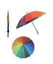 Custom Rainbow 16 Panel Umbrella, 51