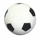 Custom Soccer Ball Shape Stress Reliever, 2 1/4