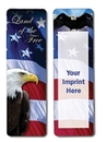Custom Stock Full Color Digital Printed Bookmark - Political