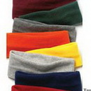 Wolfmark Custom Fleece Black Headband - 3.2