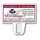 Custom Business Card Magnet with Clip (3-3/16