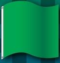 Blank 3'x3' Green Start Race Track Flag