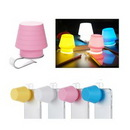 Custom 2 in 1 Night Light Silicone Mobile Phone Lamp & Phone Stand, 2.2